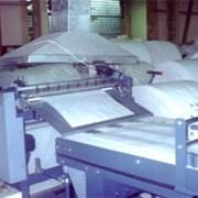 Оборудование Starlinger для пр-ва полипропиленовых мешков: полуавтоматическая линия обрезки и прошива нижнего дна, оборудование пр-во Австрия фото