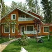 Дома панельные из дерева фото