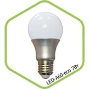 Лампа LED-А60-econom 5 Вт. фото