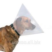 Ветеринарный воротник Trixie (Трикси) на липучке 44-53 см / 22 см фото