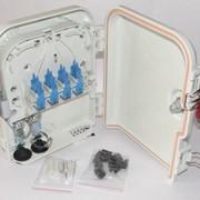 Оптический бокс, Box FDB-08 для волоконно-оптического кабеля со сплиттером 1*8 фото