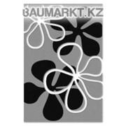 Ковролан Duet 10866 8 22822 серый с лепестками 4м. фото