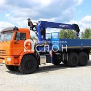 Бортовой КАМАЗ 43118-50 с КМУ Dong Yang SS1956 фото