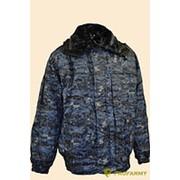 Куртка зимняя Снег-М цифра МВД (тк) фото