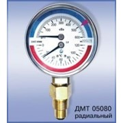 Манометр с термометром ДМТ05080 осевой фото