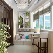 Отделка балконов и лоджий под ключ фото