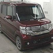 Микровэн турбо HONDA N BOX кузов JF1 минивэн для пассажира инвалида колясочника 2013 пробег 132 т.км винный фото