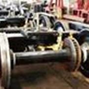 Ремонт бегунковых колесных пар поездов фото