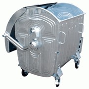 Аренда металлического контейнера 1,1 м3 фото