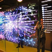 Интерактивное стекло фото