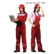 Костюм женский рабочий летний, арт. 001-0819 фото