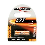 Батарейка Ansmann Alkaline A27, LR27, MN27, L828 12V (1516-0001) фото