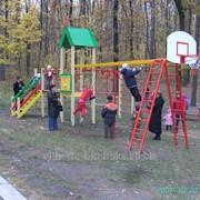 Доставка монтаж установка детских спортивных площадок ТМ Бимбока фото