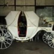 Свадебный фаэтон визави 2 фото