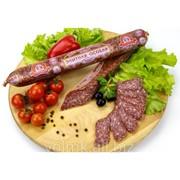 Колбаса сыровяленая Элитная особая, полусухая высший сорт фото