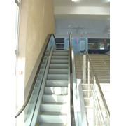 Техническое обслуживание эскалаторов. фото