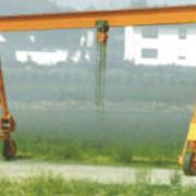Портальные краны V для использования подъемных механизмов с ручным и электроприводом в цехах и н+а открытой местности, пр-во STAHLCraneSystems (Германия) фото