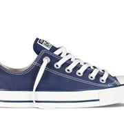 Кеды Converse All Star - Синие низкие фото