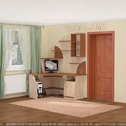 Детская комната рабочая зона фото