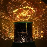 Ночник проектор звездного неба Ангел в сердце фото