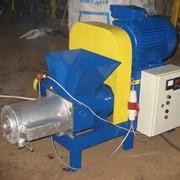 Пресс (экструдер) для изготовления топливных брикетов ПБ-200М фото