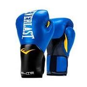 Перчатки боксерские Everlast Elite Prostyle P00001205 14 унций синий фото