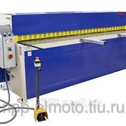 Электромеханическая гильотина FRESAN Г2550x2.5 (ручной задний упор) фото