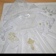 Вышивка на предметах интерьера и  одежде  фото