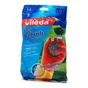 Перчатки Vileda особопрочные размер L фото