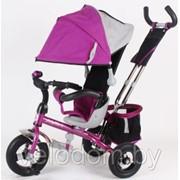 Трехколесный велосипед Moby Kids Комфорт-2 Люкс 980 pink фото