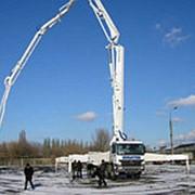 Аренда бетононасоса 28 м фото