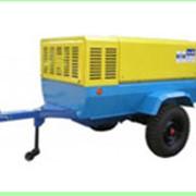 Аренда компрессора ПКС-5,25 , тип привода – электрический, мощностью 42 кВт, в комплекте 100 м.п. шланга, 2 отбойных молотка, 30 м.п. электрического кабеля фото