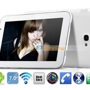 Планшетный ПК P7 MTK6517 двухъядерный GSM 7-дюймовый экран,1GHz фото