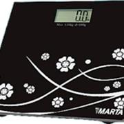 Весы MARTA MT-1686 черный фото