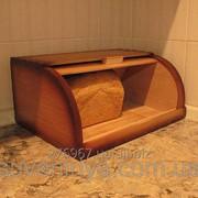Хлібниця деревяна фото
