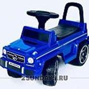 Толокар Mercedes-Benz G63 JQ663 VIP синий фото