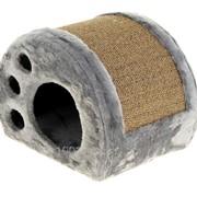 Дом-когтеточка След, 30 Х 40 Х 30 см, микс цветов фото