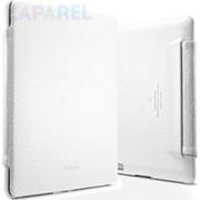 Чехлы SGP Leather Case Argos Series White for iPad 4/iPad 3 фото