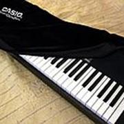 """Накидка бархатная """"антипыль"""" для цифрового пианино Casio CDP 88 клавиш фото"""