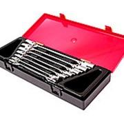 JTC-K6072 Набор ключей торцевых 6-19мм 12-ти гранных шарнирных 7 предметов JTC фото