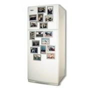 Магнит на холодильник рекламный фото