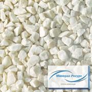 Щебень мраморный белый 10-20 мм (производитель) фото