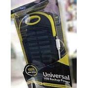 Повер банк с солнечной батареей Universal фото