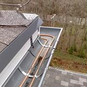 Обогрев крыши, водостока, ливневой, фасада, желоба - электро обогрев. фото