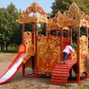 Детские площадки стиль Русич фото