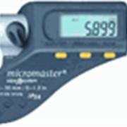 Микрометр цифровой Tesa Micromaster со сферическими измерительными поверхностями; 0-30мм, 0-25мм фото