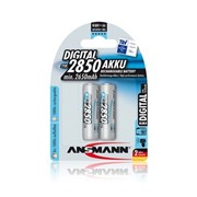 Аккумулятор Ansmann Mignon AA, HR6 2850mAh 2 шт (5035202) фото