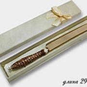 198-034 Нож для торта KRISTAL DE LUX в под.уп.(х50) фото