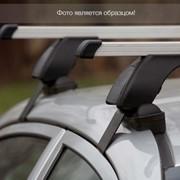 Багажная система LUX с дугами 1,2м прям. в пластике для а/м с рейл фото
