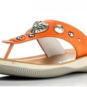 Оранжевые тапочки Naturino фото